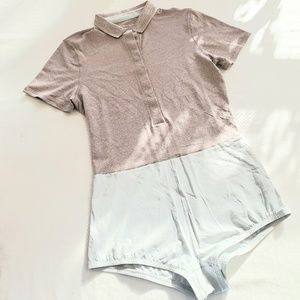 NWOT Outdoor Voices Players Polosuit Romper